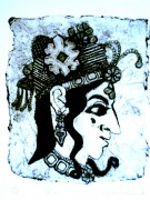 rani, collagraph, 24in x 19in - Copy
